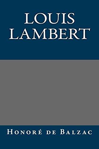 9781495214394: Louis Lambert
