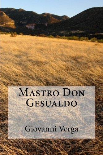 9781495221064: Mastro Don Gesualdo (Italian Edition)