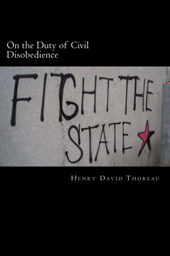 9781495240140: On the Duty of Civil Disobedience