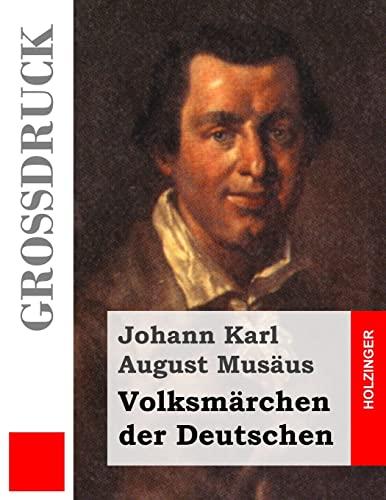 9781495313622: Volksmärchen der Deutschen (Großdruck) (German Edition)