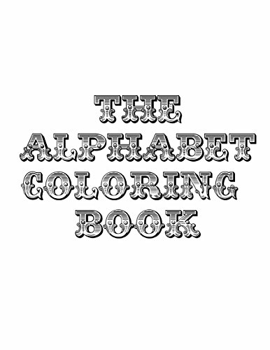 9781495336003: The Alphabet Coloring Book