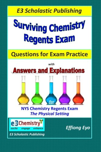 9781495342035: Surviving Chemistry Regents Exam: Questions for Exam Practice: 30 Days of Question sets for NYS Regents Exam