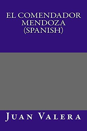 9781495355509: El Comendador Mendoza (Spanish)