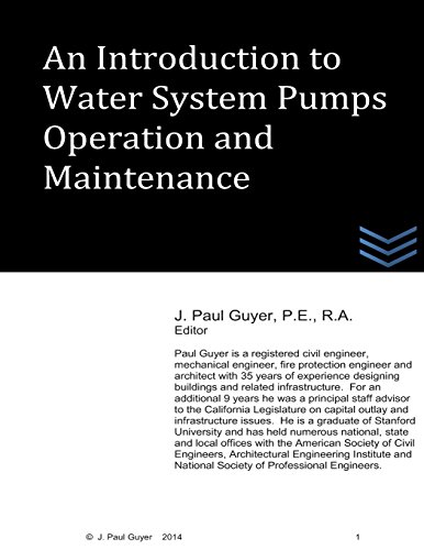 9781495365478: An Introduction to Water System Pumps Operation and Maintenance