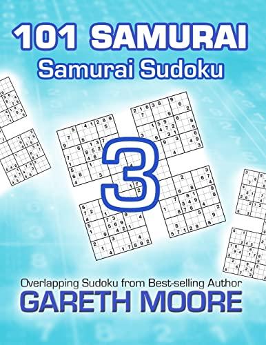 9781495365911: Samurai Sudoku 3: 101 Samurai