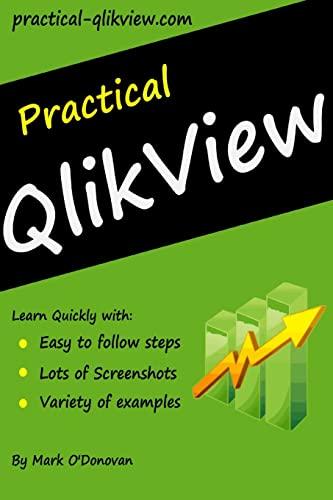 Practical QlikView: O'Donovan, Mark
