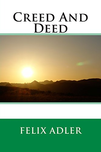 9781495378454: Creed And Deed