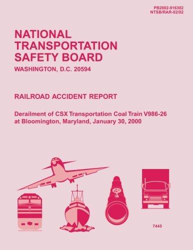 Rail Accident Report: Derailment of Csx Transportation: National Transportation Safety