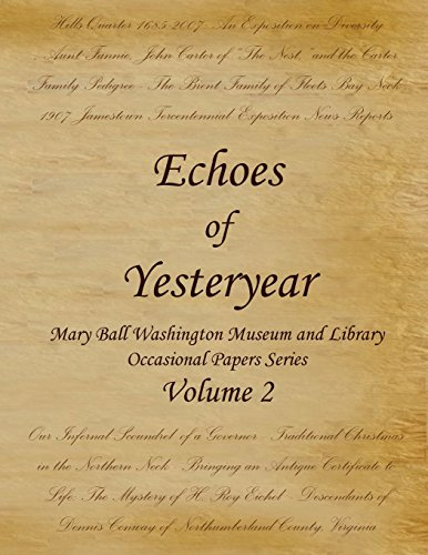Echoes of Yesteryear Volume 2: Robert N. McKenney,