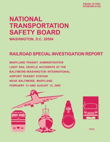 Railroad Special Investigation Report: Maryland Transit Administration: National Transportation Safety