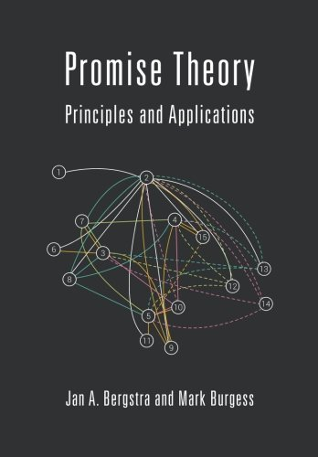 Promise Theory: Principles and Applications