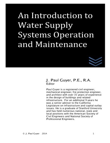 9781495441189: An Introduction to Water Supply Systems Operation and Maintenance