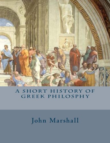 9781495493287: A Short History of Greek Philosphy