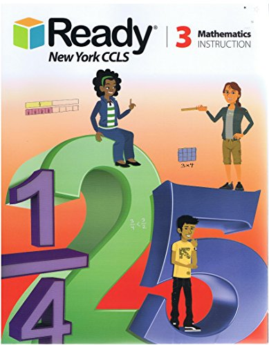 9781495705700: 2016 Ready New York CCLS Math Grade 3 Instruction