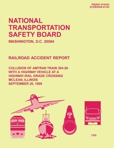 Railroad Accident Report: Collision of Amtrak Train: National Transportation Safety