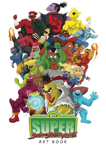 9781495949623: Sesame Street Fighter Artbook