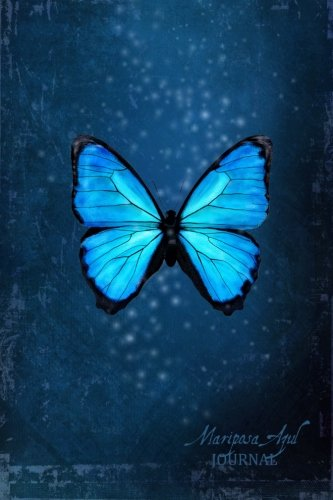 9781495971228: Mariposa Azul Journal: butterfly (Notebook, Diary, Blank Book) 6x9