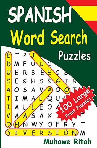 SPANISH Word Search Puzzles (Volume 1): Muhawe Ritah