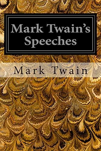 9781496121516: Mark Twain's Speeches