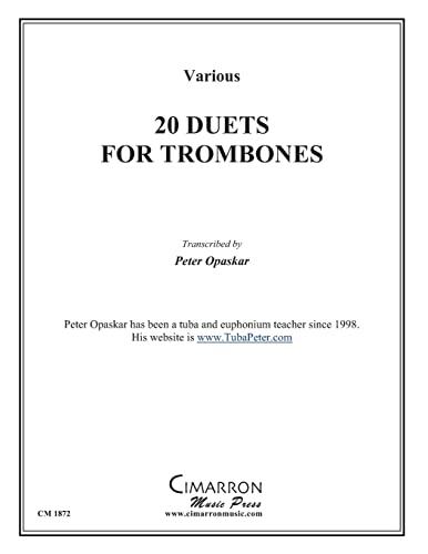 9781496123145: 20 Duets for Trombone