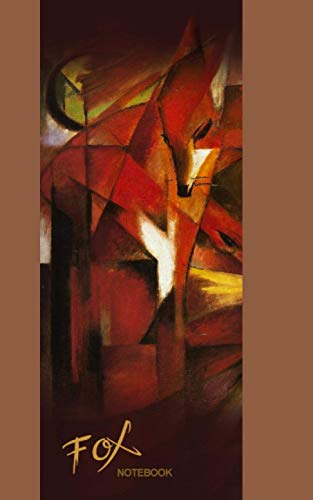9781496136688: Fox Notebook: Gift/Notebook/Journal/Jotter (The Fox by Franz Marc) (Animal Series)