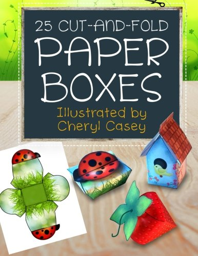 9781496140821: 25 Cut-and-Fold Paper Boxes
