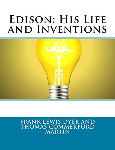 9781496160973: Edison: His Life and Inventions