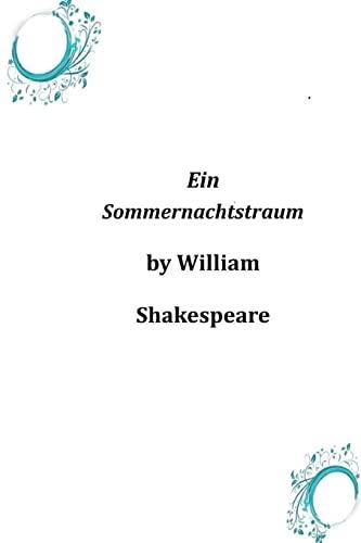 9781496173645: Ein Sommernachtstraum (German Edition)