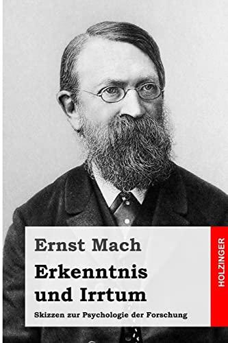 9781496189424: Erkenntnis und Irrtum: Skizzen zur Psychologie der Forschung (German Edition)