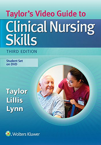 9781496306487: Taylor's Video Guide to Clinical Nursing Skills: Student Set on DVD