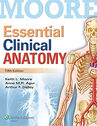 9781496307200: Moore Essential Clinical Anatomy, 5th Ed. + Color Atlas of Anatomy, 7th Ed.
