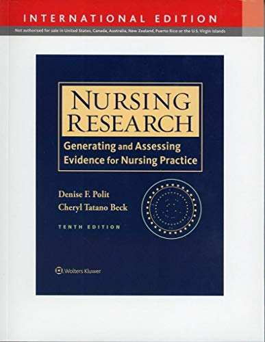 9781496308924: Nursing Research, International Edition: Generating and Assessing Evidence for Nursing Practice