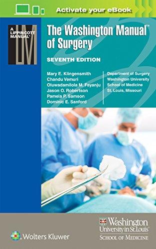 9781496310781: The Washington Manual of Surgery (Lippincott Manual Series)