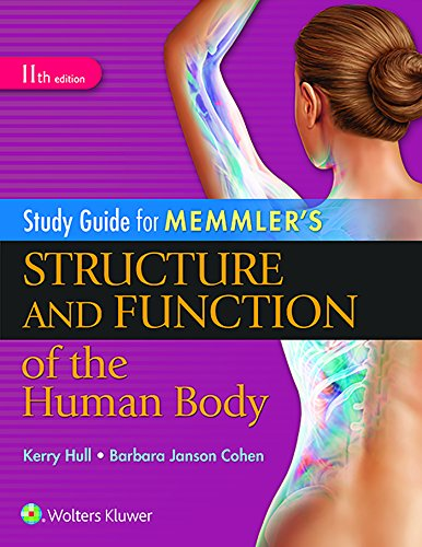 9781496317742: Study Guide for Memmler's Structure and Function of the Human Body