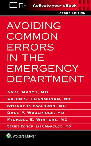 9781496320742: Avoiding Common Errors in the Emergency Department