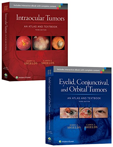 9781496323637: Shields: Intraocular Tumors 3e and Eyelid, Conjunctival, and Orbital Tumors 3e Package