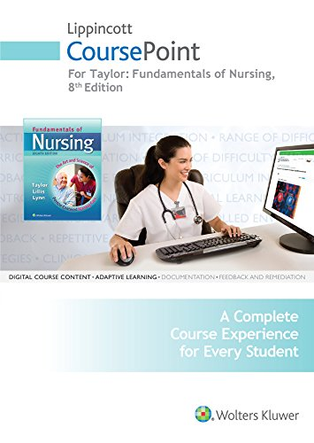 9781496324177: Lippincott CoursePoint for Taylor: Fundamentals of Nursing, 8th Edition