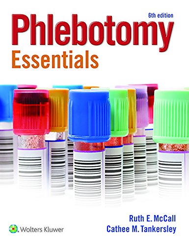 9781496325204: McCall Phlebotomy Essentials 6e Book and Prepu Package