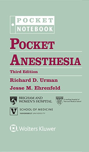 9781496328557: Pocket Anesthesia (Pocket Notebook Series)