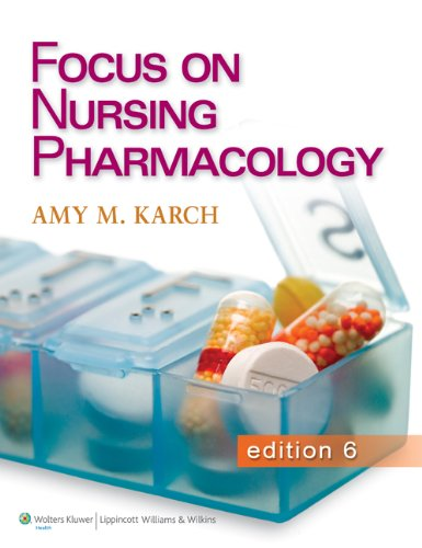 9781496338372: Karch CoursePoint for Focus on Nursing Pharmacology 6e and Text 6e Package