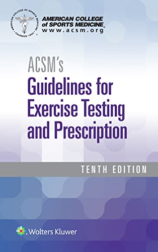 9781496339065: ACSM's Guidelines for Exercise Testing and Prescription (American College of Sports Medicine)