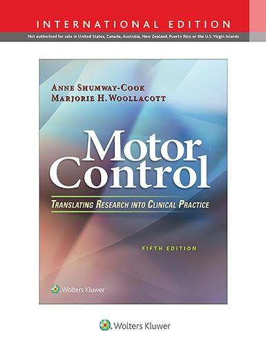 9781496347725: Motor Control