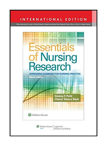 9781496358356: Essentials of Nursing Research