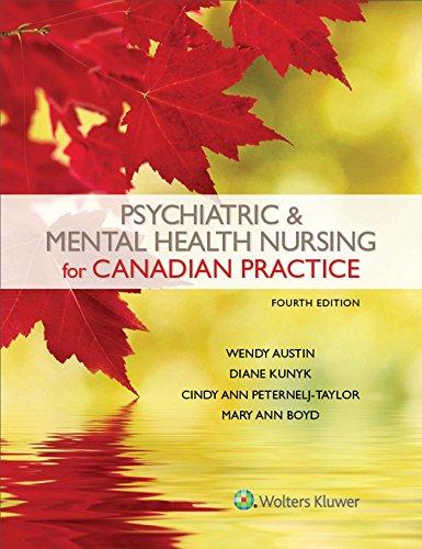 9781496384874: Psychiatric & Mental Health Nursing for Canadian Practice