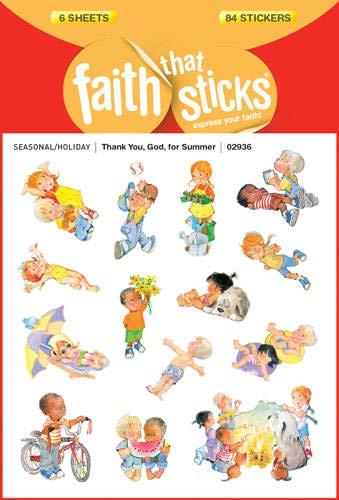 Thank You, God, for Summer (Faith That Sticks Stickers): Faith that Sticks