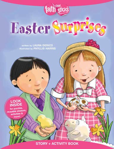 9781496403117: Easter Surprises Story + Activity Book (Faith That Sticks Books)