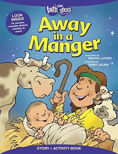 9781496403186: Away in a Manger (Faith That Sticks)