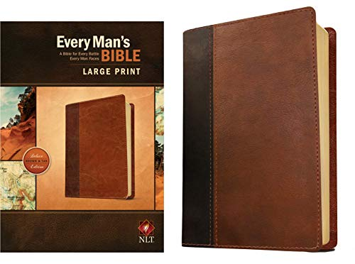 9781496407672: Every Man's Bible NLT, Large Print, TuTone