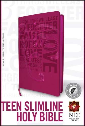 Teen Slimline Bible-NLT (Imitation Leather)