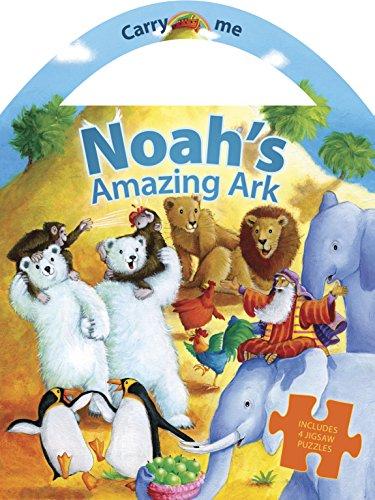 9781496410870: Noah's Amazing Ark (Carry Me Puzzle Books)